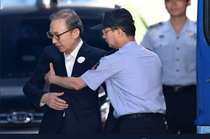 South Korea jails former president Lee Myung-bak for 15 years- India TV