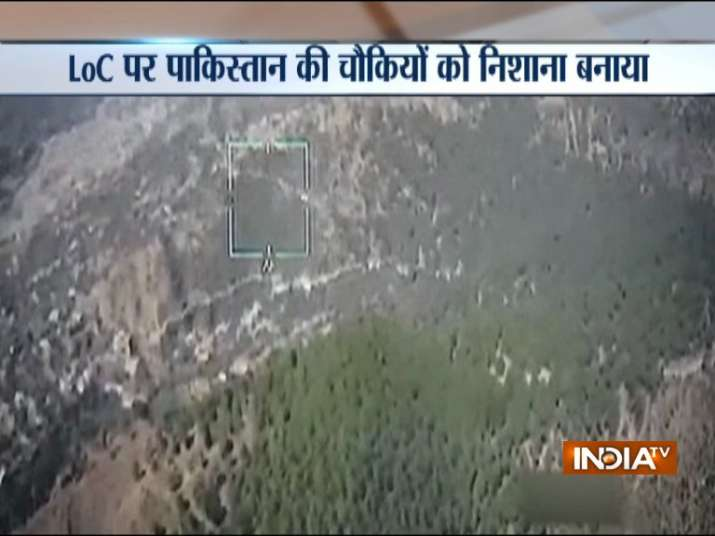 Pakistan army administrative HQ targeted along LoC near Poonch by Indian Army- India TV
