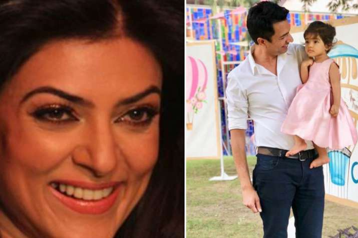 Sushmita Sen, Asin husband and daughter Arin- India TV