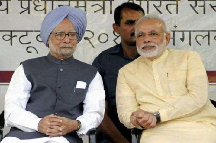 Manmohan Singh and Narendra Modi- India TV