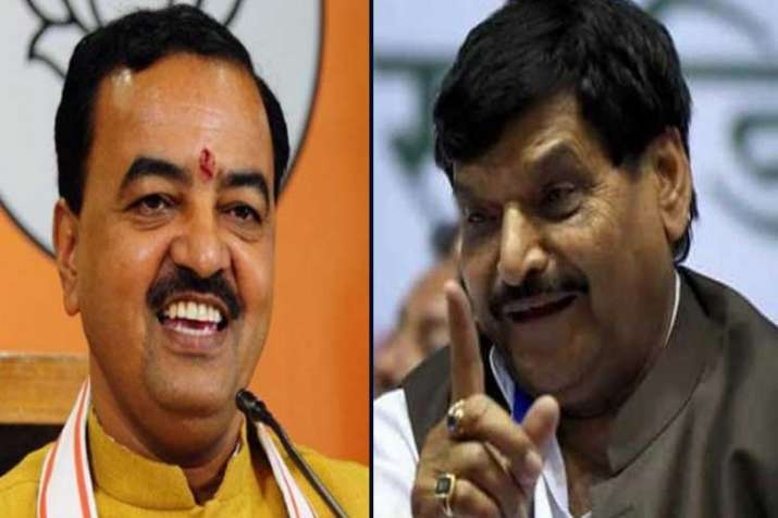 keshav prasad maurya and shivpal yadav- India TV