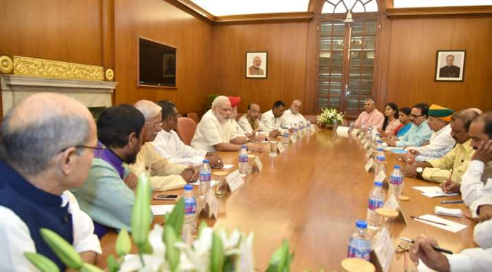 Narendra Modi Meeting with council of ministers (File...- India TV