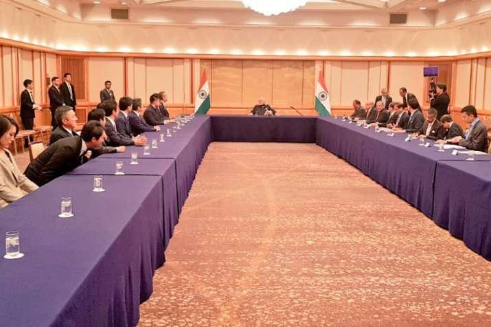 जापानी नेताओं से मिले PM मोदी, द्विपक्षीय संबंधों समेत कई मुद्दों पर की बात- India TV