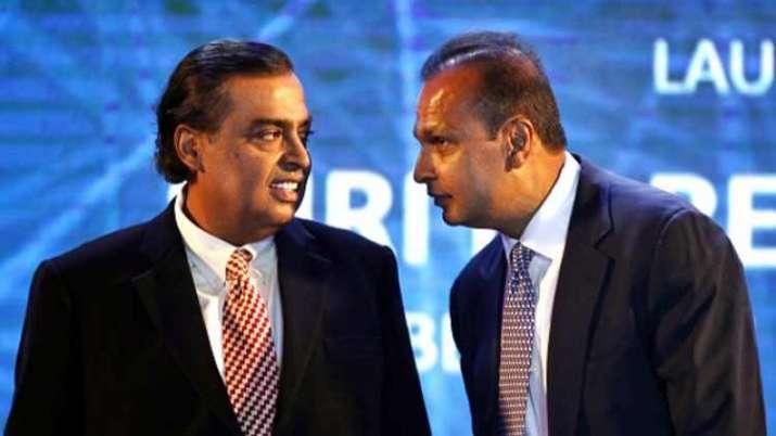 Mukesh and Anil Ambnai- India TV Paisa