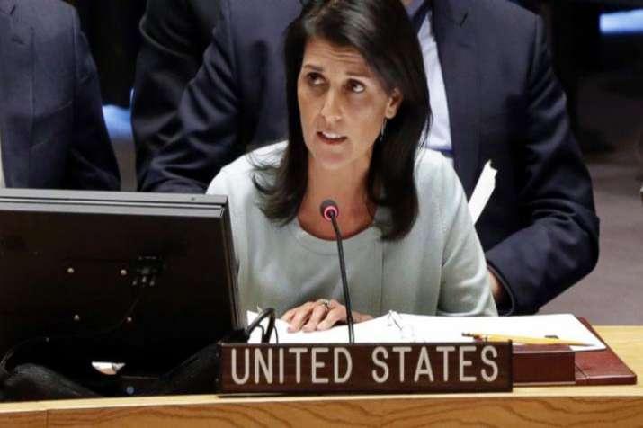 US ambassador to UN Nikki Haley resigns- India TV