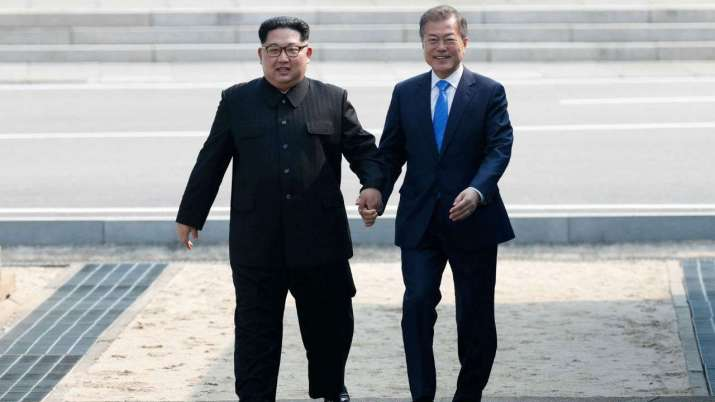 Peace Talk between North And South Korea (File Pic)- India TV