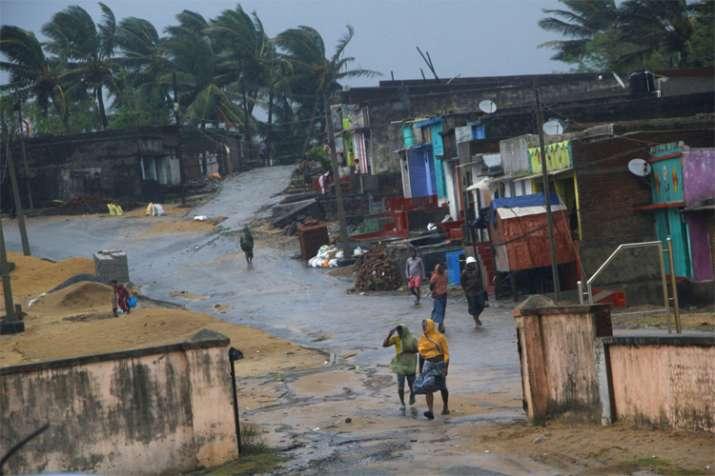 Odisha Titli Cyclone- India TV