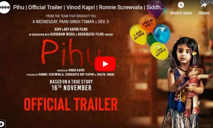 Pihu Trailer Out- India TV