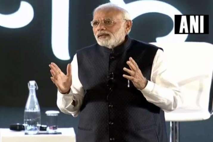 Delhi: PM Modi interacts with IT professionals from...- India TV