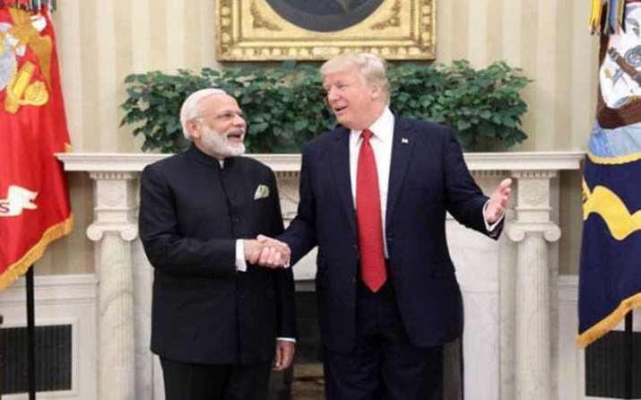PM Modi with Trump- India TV Paisa