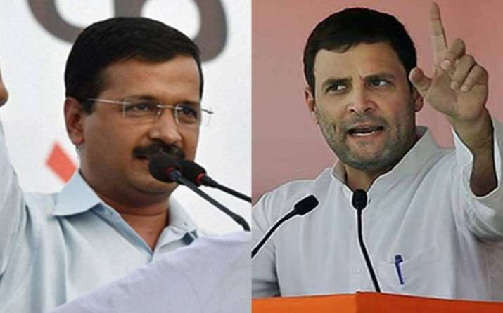 Rahul Gandhi and other opposition leaders condemns govt action against farmers - India TV