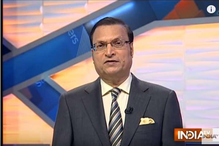 Rajat Sharma Blog: BJP spokespersons were finding it difficult to defend M. J. Akbar- India TV