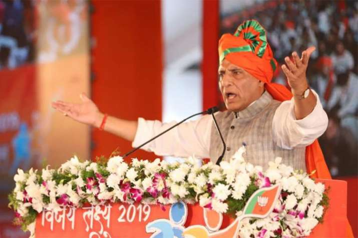 Congress playing with national security with Rafale charges, says Rajnath Singh | Facebook- India TV