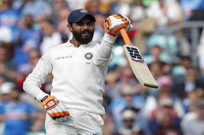 Ravindra Jadeja scores 1st century in his international test cricket career- India TV