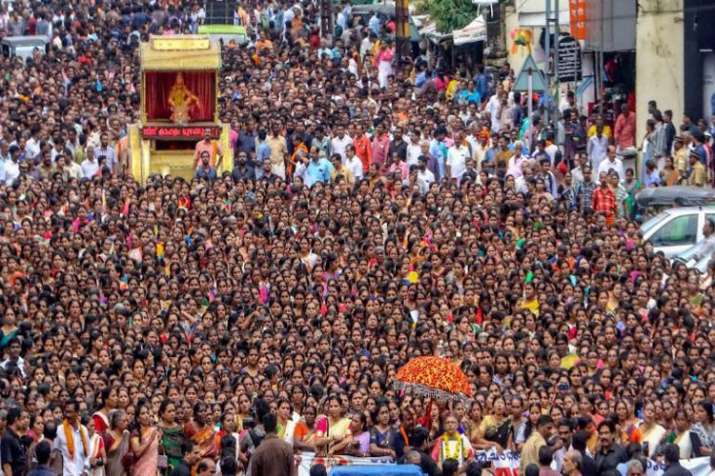 Pattern to protest women entry in Sabarimala is similar to time of the Babri demolition says Left- India TV