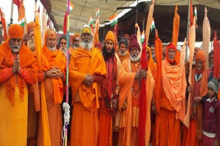 राम मंदिर के मुद्दे पर आज दिल्ली में संतों की उच्चाधिकार समिति की बैठक- India TV