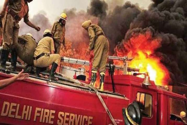 Delhi Fire- India TV