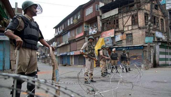 Kashmir Bandh- India TV