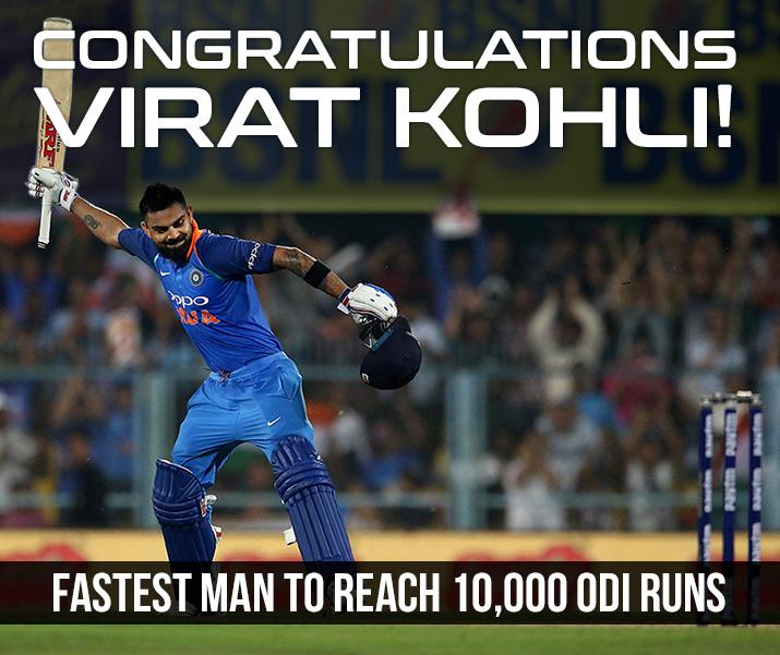 Virat Kohli completes 10,000 ODI runs- India TV