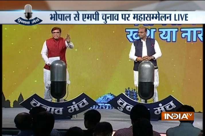 Vishwas Sarang and Abhay Dubey- India TV