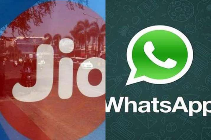 whatsapp and jio- India TV Paisa