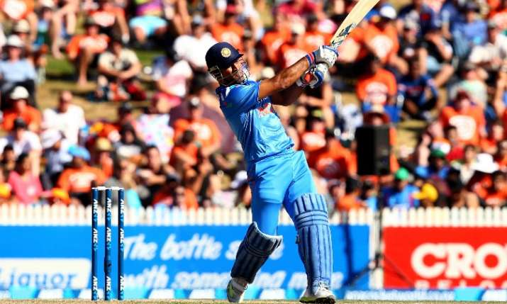 MS Dhoni have chance to enter in 10,000 club for Team India- India TV