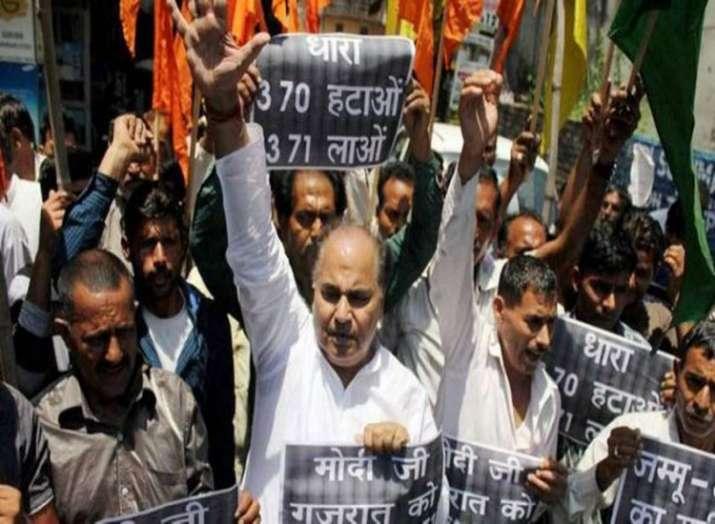 Kashmir article 370- India TV