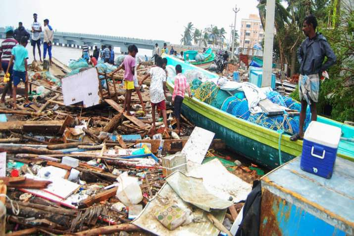 Cyclone Gaja Live Updates: Storm makes landfall in Tamil Nadu- India TV