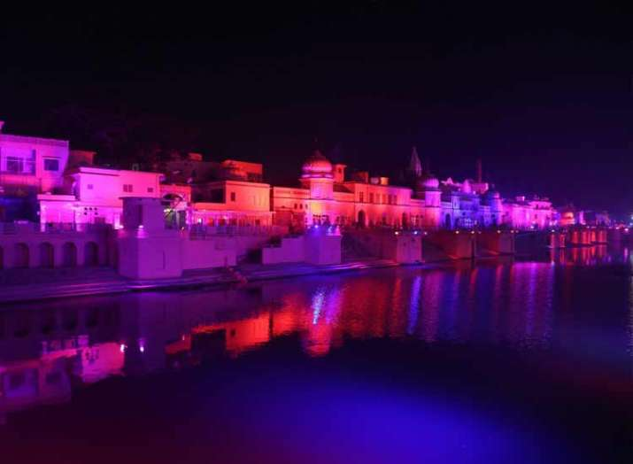 Grand Diwali celebrations in Ayodhya on Tuesday; South Korean first lady to be chief guest- India TV