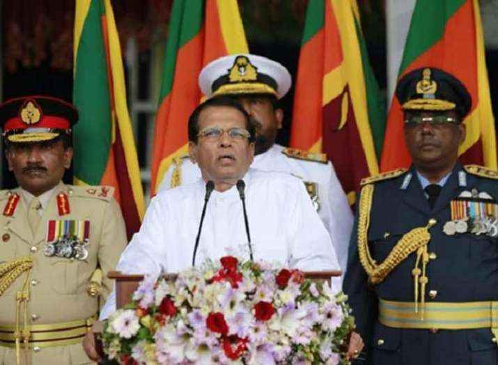 Sri Lanka political crisis: President Sirisena dissolves Parliament, paves way for early elections- India TV
