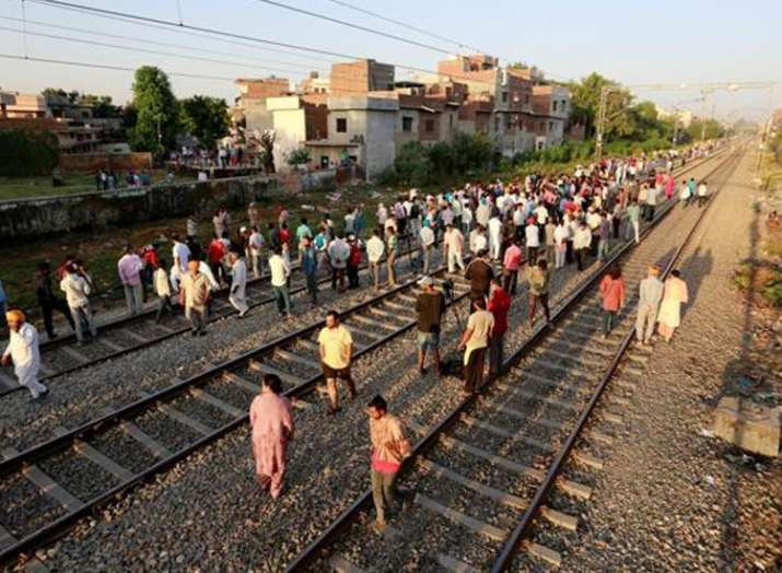 Amritsar train tragedy: After calling it 'tresspassing', Railways orders probe into deadly incident - India TV