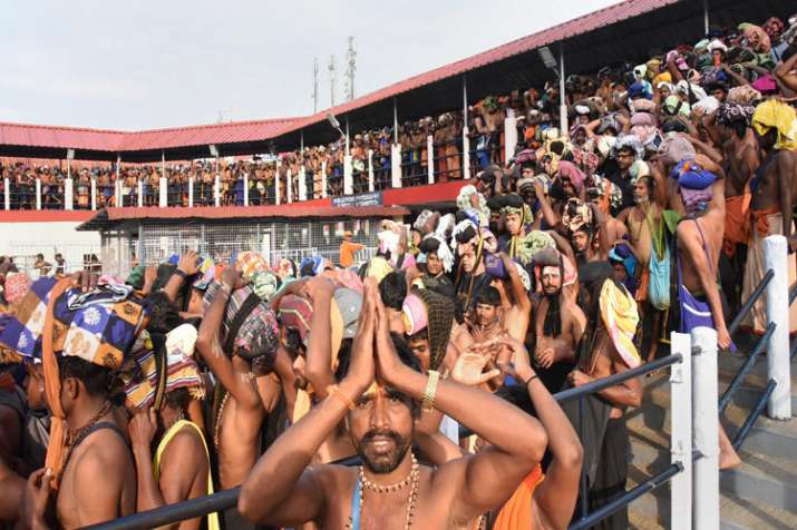 Sabarimala Temple Row: Strike called by Hindu groups largely peaceful amid tight security- India TV