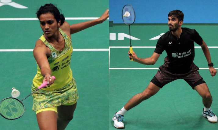 PV Sindhu, Kidambi Srikanth- India TV