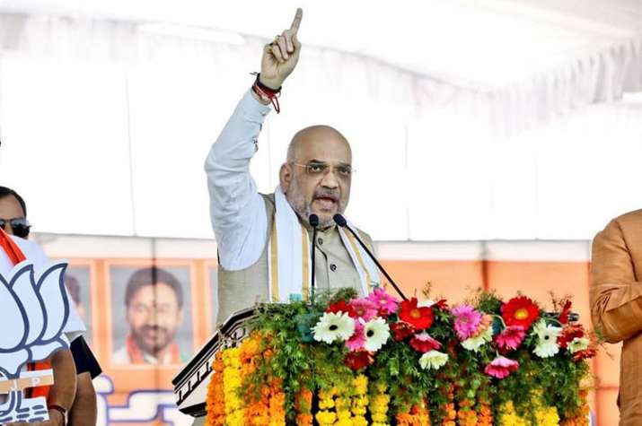 Telangana assembly elections: Congress, TRS engaging in minority appeasement, says Amit Shah | Faceb- India TV