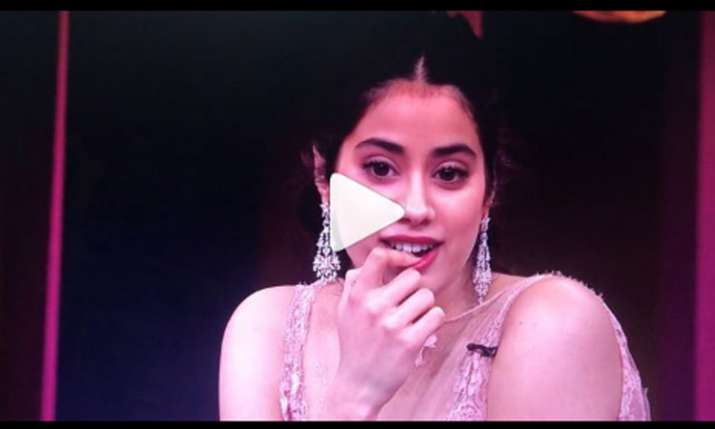 Janhvi Kapoor- India TV