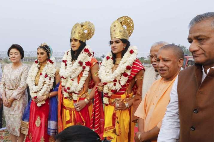 Ahodhuya Deepotsav- India TV