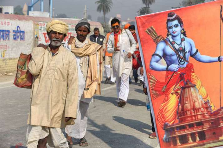 VHP's Dharm Sabha in Ayodhya to push for Ram temple construction | PTI Photo- India TV
