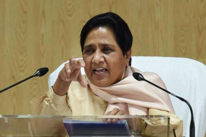 Mayawati's strong criticism of BJP, Shiv Sena on raising Ram temple issue before election- India TV