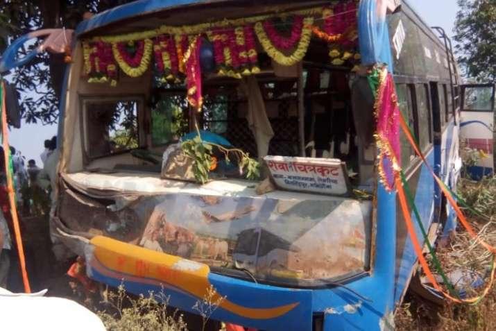 School van accident in Satna Madhya- India TV