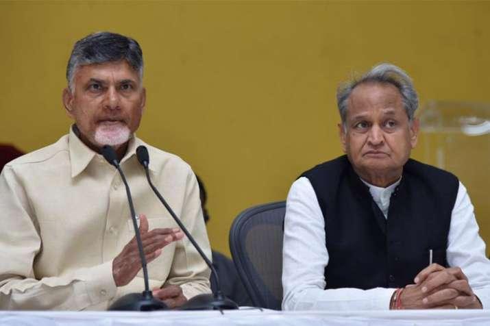 N Chandrababu Naidu and Ashok Gehlot- India TV