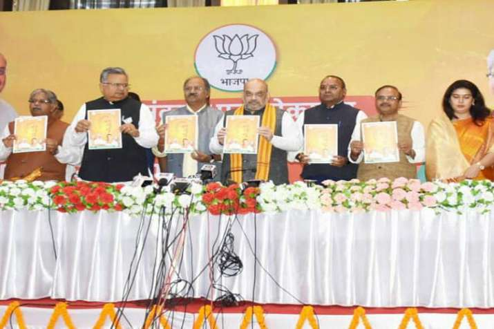 BJP election manifesto for Chhattisgarh- India TV