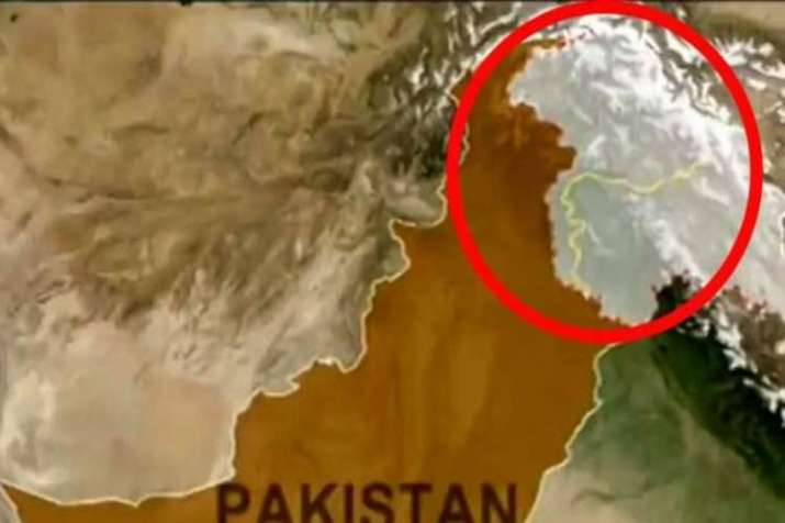 China shows PoK in India Map- India TV