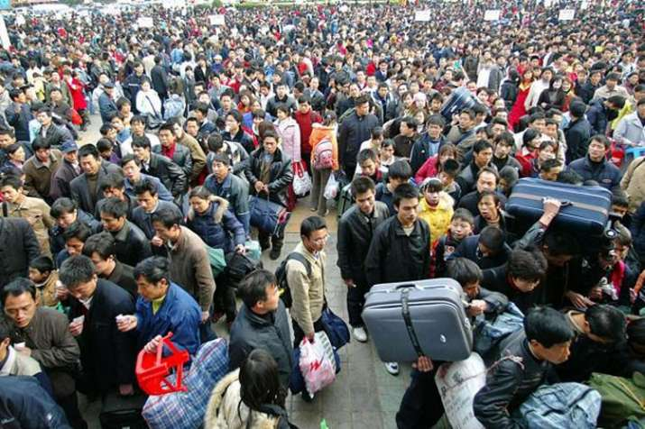Beijing sees population fall for first time in 20 years | AP- India TV