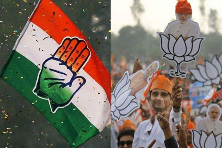 congress and bjp- India TV