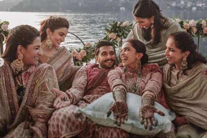Ranveer Singh, Deepika Padukone with their family- India TV
