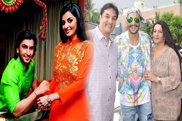 Ranveer singh family- India TV