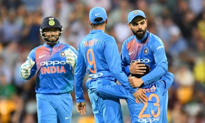 India vs Australia 1st T20I Match- India TV