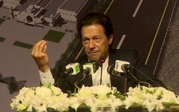 The only issue between India and Pakistan is Kashmir says Imran Khan- India TV