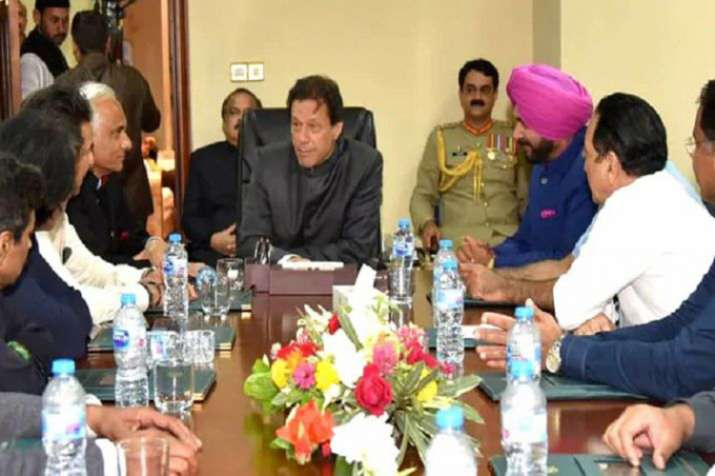 Imran Khan invited Navjot Singh Sidhu ground-breaking ceremony of Kartarpur border corridor- India TV
