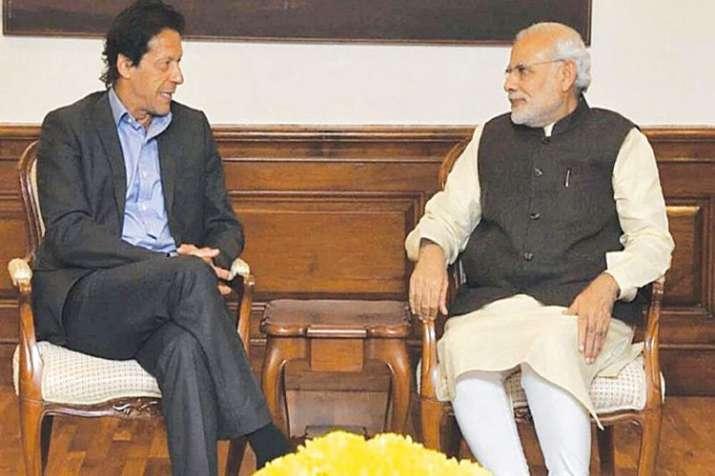 Imran Khan with Modi- India TV